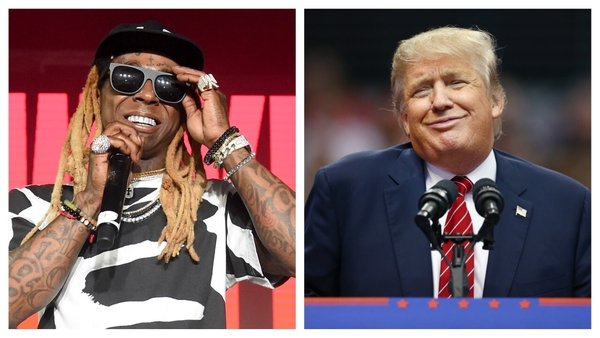 """Lil Wayne: """"I want to thank President Trump for recognising that I have so much more to give to my family, my art, and my community."""""""