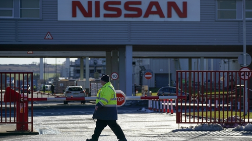 Japan's Nissan makes about 30,000 Leaf electric cars at its Sunderland factory
