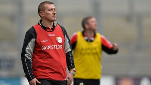 Mullally, pictured as Mount Leinster Rangers coach in 2014