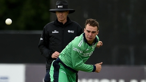 Andy McBrine's performance was a positive for Ireland