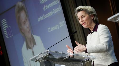 European Commission PresidentUrsula von der Leyensaid the situation was very serious