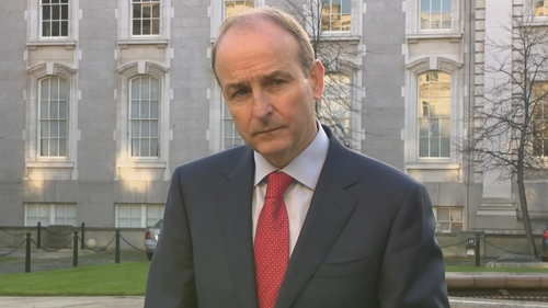 Micheál Martin said a 'two-island approach' was being pursued