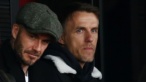 David Beckham and Phil Neville begin a new chapter together at Inter Miami