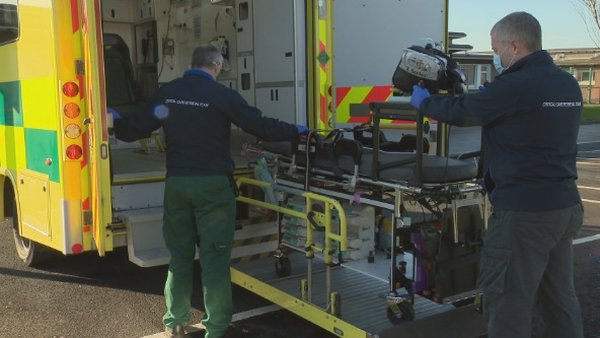 40 critically ill patients have been moved between hospitals so far this month