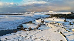 A blanket of snow in Connemara (Pic: Jimmy Norman)