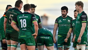 Connacht led 17-5 at the break