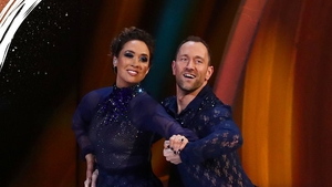 Myleene Klass has become the first celebrity to leave this year's Dancing on Ice