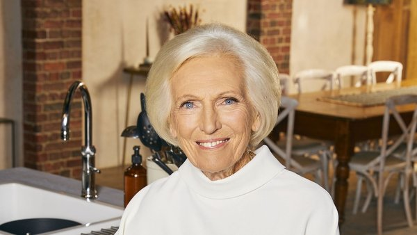 Mary Berry on comfort food and filming during Covid.