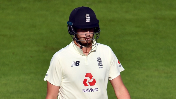 Dom Sibley reached 56 for England