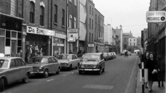 Liffey Street part of the Dublin North Lotts development plan, 1971.