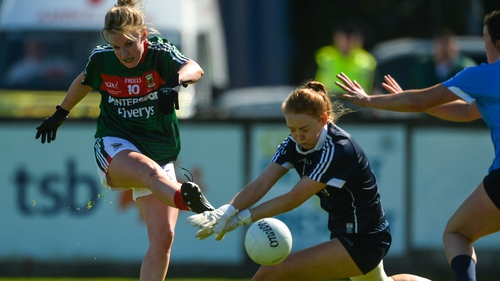 Fiona McHale in action for Mayo in 2018