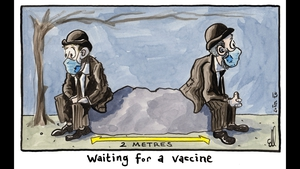 Eoin Kelleher draws inspiration for his cartoons from his work on the frontline (Courtesy: Eoin Kelleher)