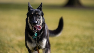 US President Joe Biden said Major is being trained at home