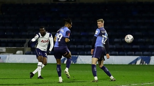 Tanguy Ndombele scores Tottenham's fourth goal