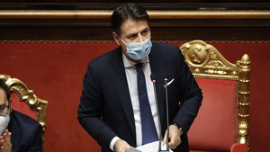 Italian Prime Minister Giuseppe Conte hopes to put together a new coalition