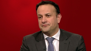 Tánaiste Leo Varadkar speaking on the Claire Byrne Live programme