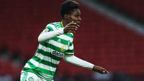 Jeremie Frimpong came to Celtic from Manchester City in 2019