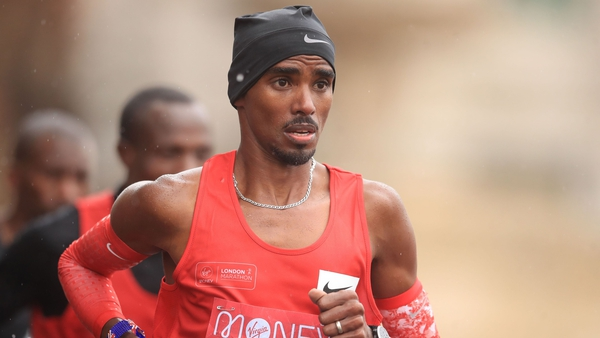 Mo Farah is confident the Tokyo Games will go ahead