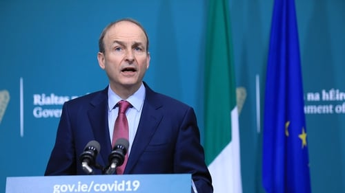 The Taoiseach said there is no easy way through or out of this pandemic