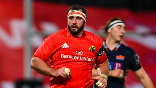 James Cronin suffered a knee injury against Leinster