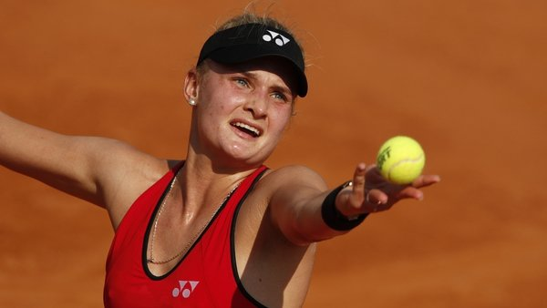 Dayana Yastremska was suspended earlier this month