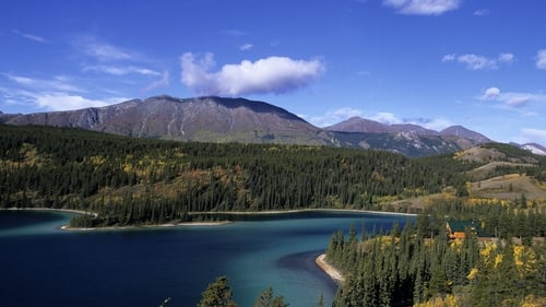 The Yukon territory is sparsely populated