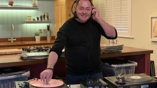 """""""I've a lot of drum'n'bass and hardcore that I don't like anymore. I've moved on, so it's more the trance, the uplifting house"""" Photo: Neven Maguire/Twitter"""