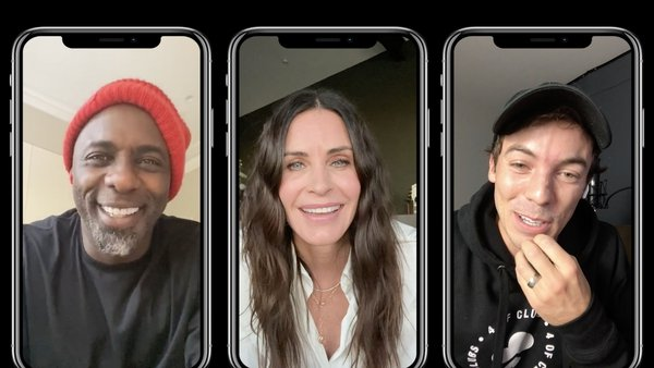 Idris Elba, Courteney Cox and Canadian rapper Connor Price