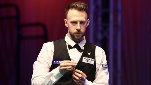 Judd Trump was in action for the first time this year