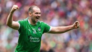 Tom Condon celebrates Limerick's 2018 All-Ireland win