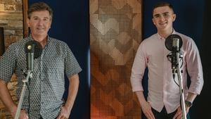 Daniel and David in Spout Studios in Granard