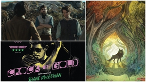 (Clockwise from top) - Arracht, Wolfwalkers, Crock of Gold: A Few Rounds with Shane MacGowan
