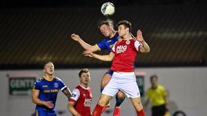 Luke McNally was a rock at the heart of the Saints defence last season