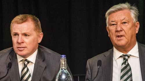 Neil Lennon says Peter Lawwell (right) will be a 'big miss' for Celtic