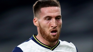 Matt Doherty started as a left wing-back against Liverpool