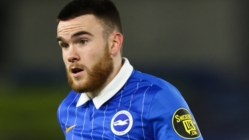 Aaron Connolly has made 11 appearances for Brighton this season