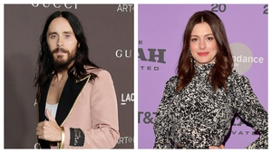 Jared Leto and Anne Hathaway