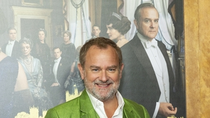"""Hugh Bonneville: """"Delighted to be part of the support team as a volunteer marshall. I get to wear hi viz and everything."""""""