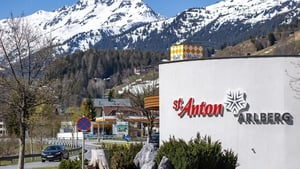 Police operation at St Anton am Arlberg