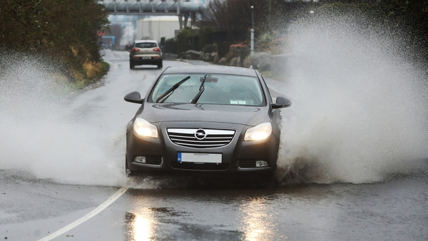 Heavy rain is expected over the coming days (File pic: RollingNews.ie)