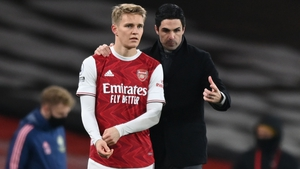 Arteta was impressed by the Norwegian last season