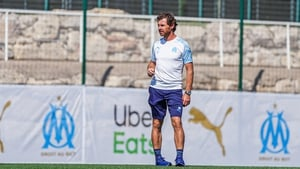 Marseille manager André Villas Boas pictured at the club's training ground