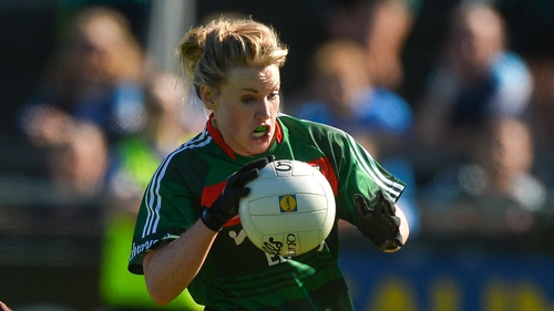 Fiona McHale was back for Mayo along with the Carnacon contingent