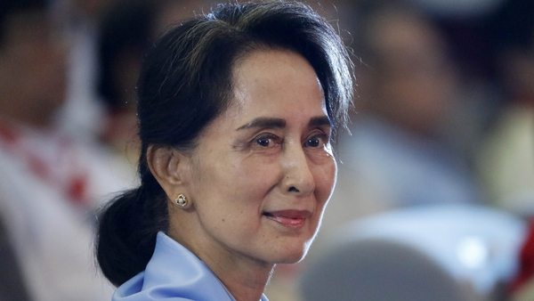 Aung San Suu Kyi told an audience in Dublin, that the British had always referred to the Burmese as the Irish of the East