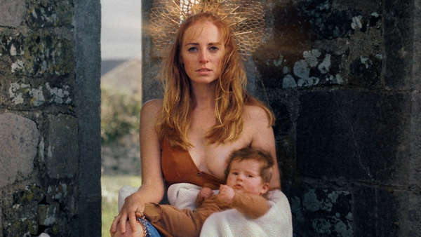 Breastfeeding Madonna by photographer Myriam Riand & Áine O' Brien from the Sovereignty project