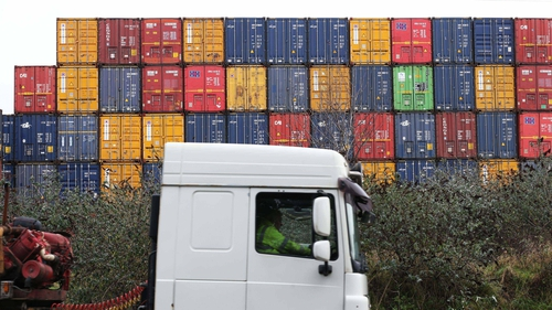 Irish ports handled 51.4 million tonnes of goods in 2020 - a decrease of 3.5% compared with 2019, new CSO figures show (Pic: RollingNews.ie)