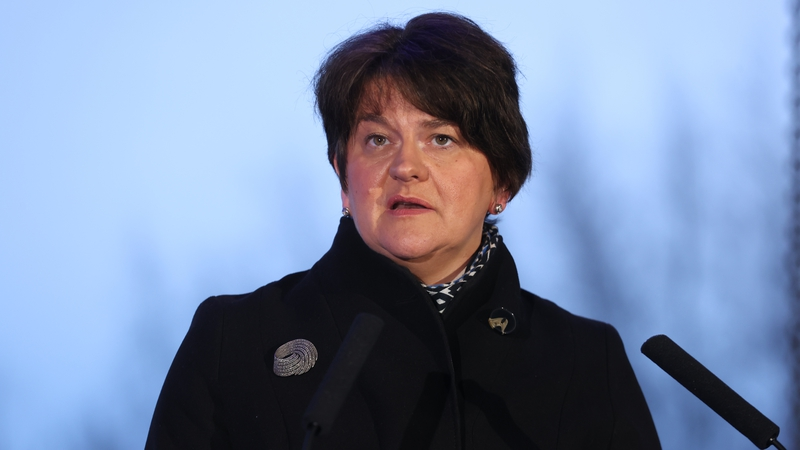Arlene Foster said she is 'not entirely surprised' by the EU threat of court action