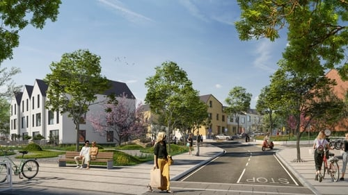 The 136 homes to receive planning permission comprise of 80 two, three and four bedroomed houses, and 56 duplexes