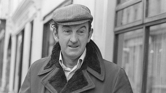 John B. Keane in Listowel, 1977 © RTÉ Archives 2065/098