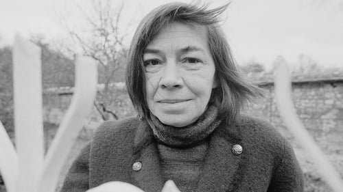 Author Patricia Highsmith at her home in Moncourt in France in 1976. Photo: Jacques Pavlovsky/ Sygma via Getty Images